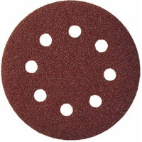 50pcs Klingspor 125mm Al. Oxide Hook and Loop GLS 27 Sanding Disc for Wood, Metals PS22K
