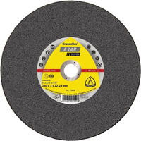 Klingspor Cut-Off Wheel (Supra) Medium Grit for Stainless Steel A24R (80 Vmax)