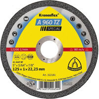Klingspor Cut-Off Wheel (Special) Hard Grit for Stainless Steel A960TZ