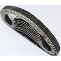 10mm x 330mm Silicon Carbide Sanding Belt  - Various Grits